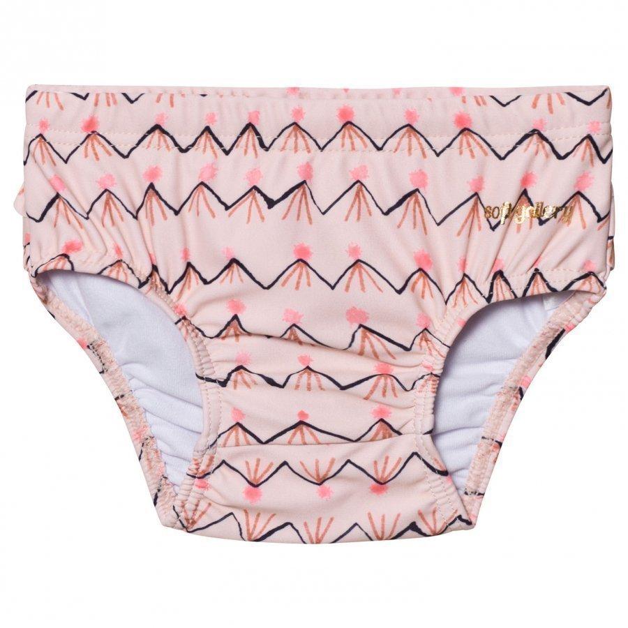 Soft Gallery Mina Swim Pants Scallop Shell Uimashortsit