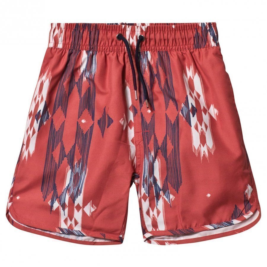 Soft Gallery Oliver Swim Trunks Hot Sauce Uimashortsit
