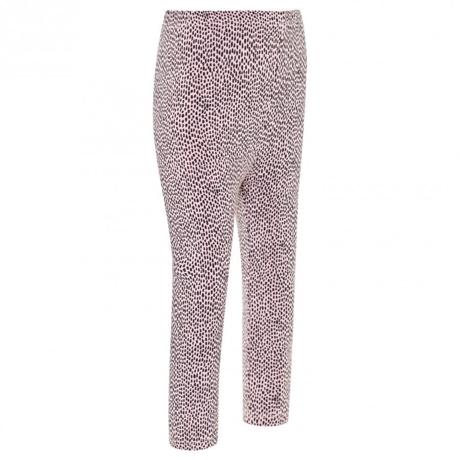 Soft Gallery Paula Baby Leggings Silver Pink Aop Pebbles Legginsit