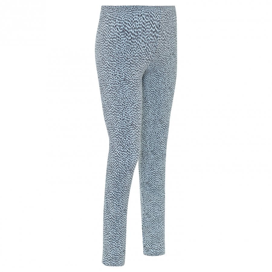 Soft Gallery Paula Junior Leggings Sterling Blue Aop Pebbles Legginsit