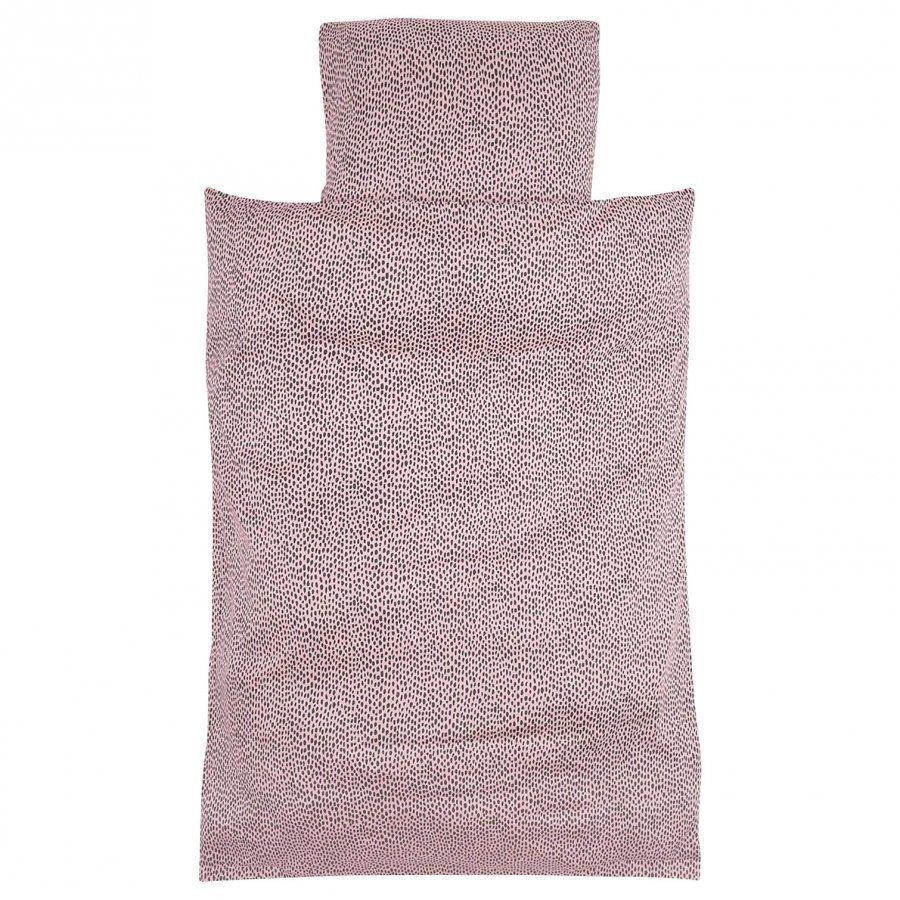 Soft Gallery Pebbles Adult Bed Linen Silver Pink Muotoonommeltu Lakana