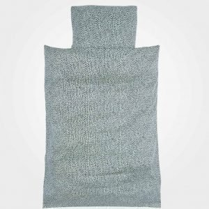 Soft Gallery Pebbles Junior Bed Linen Sterling Blue Muotoonommeltu Lakana