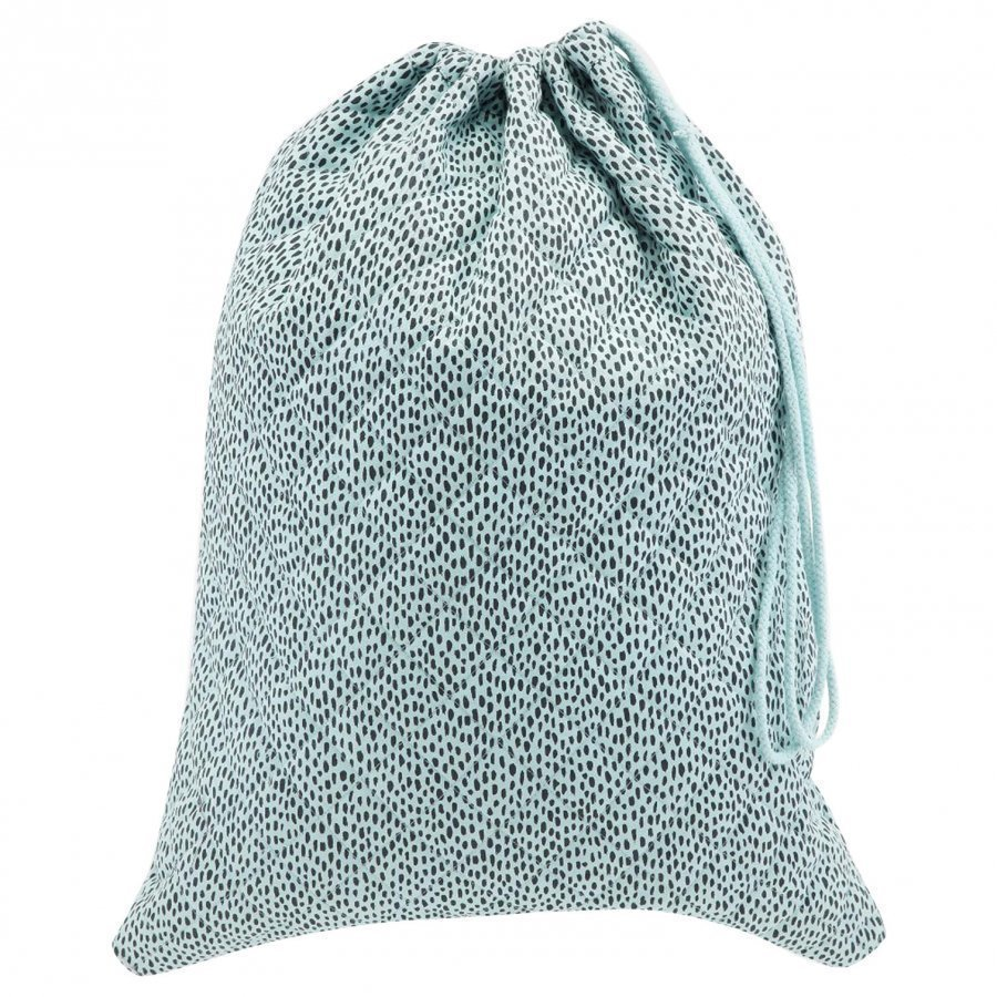 Soft Gallery Pebbles Laundry Bag Sterling Blue Pesupussi