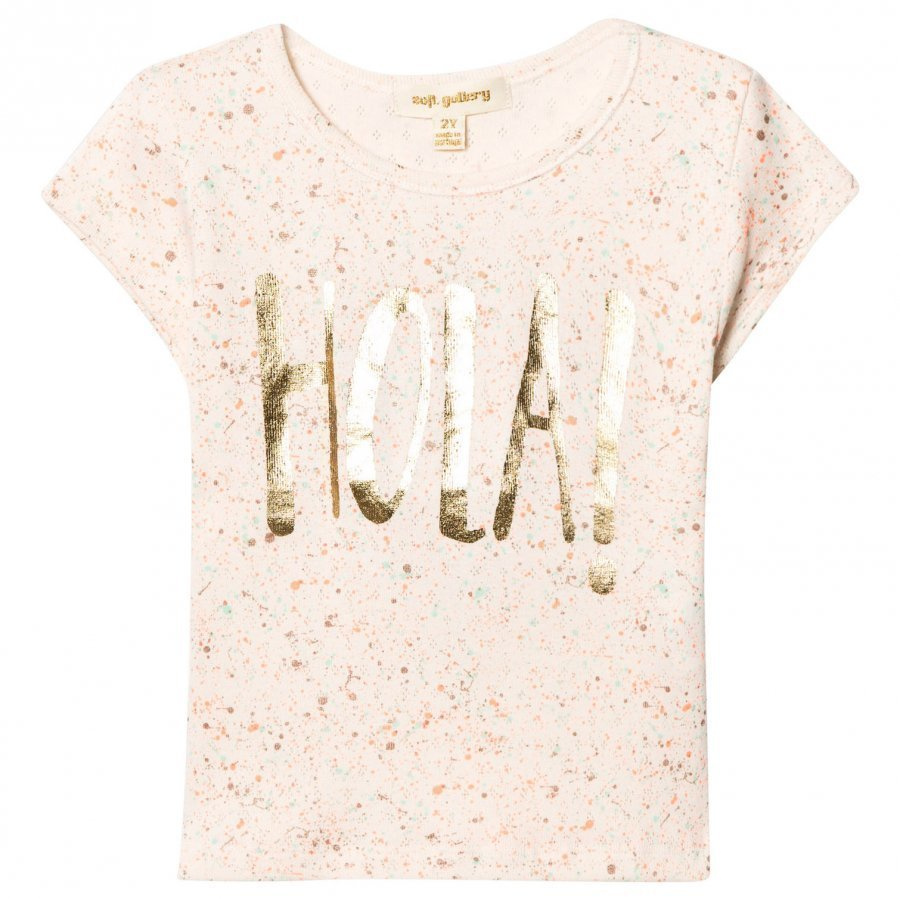 Soft Gallery Pilou T-Shirt Pearled Ivory T-Paita