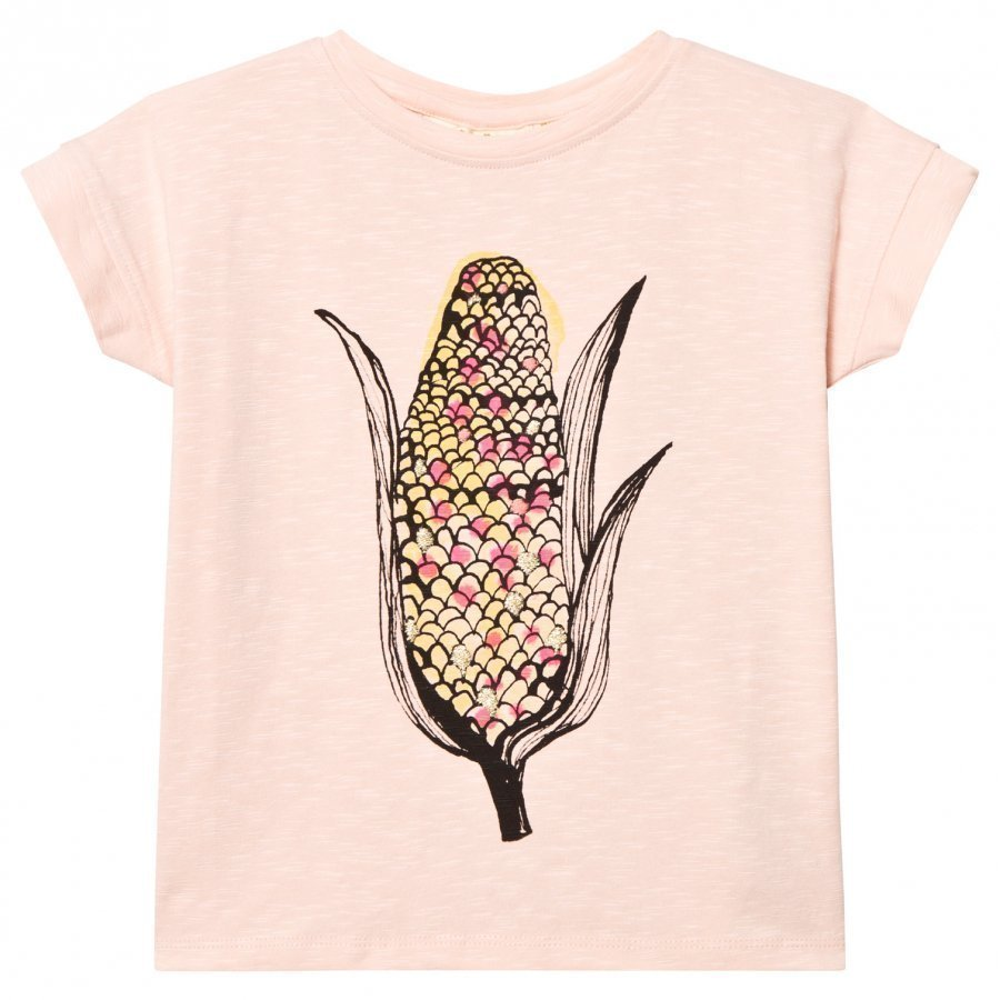 Soft Gallery Raja T-Shirt Pink Scallop Corn T-Paita