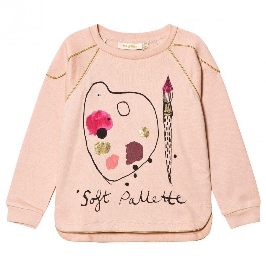 Soft Gallery Signe Sweatshirt Rose Cloud Pitkähihainen T-Paita