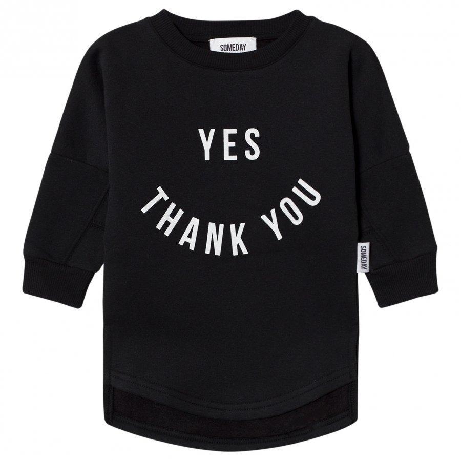 Someday Soon Clinton Sweatshirt Black Oloasun Paita