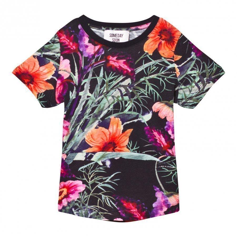 Someday Soon Jamaica T-Shirt Multi Color T-Paita