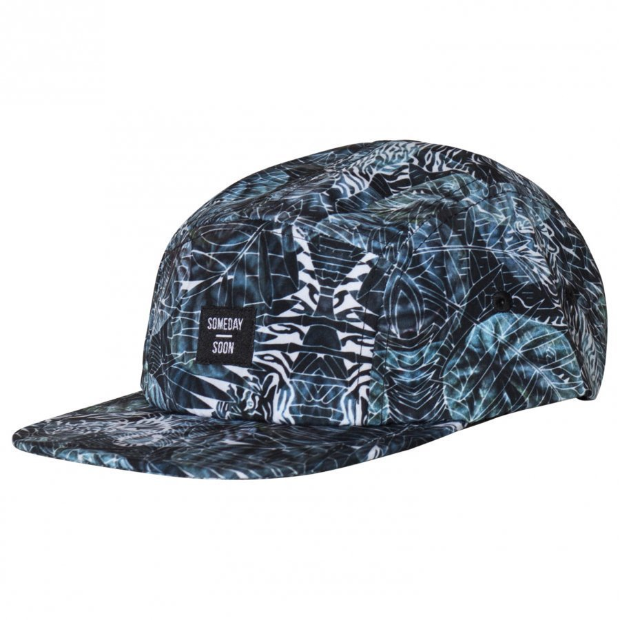 Someday Soon Melrose 5 Panel Cap Multi Lippis