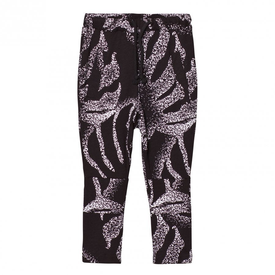 Someday Soon Montego Pants Black Palm Print Verryttelyhousut