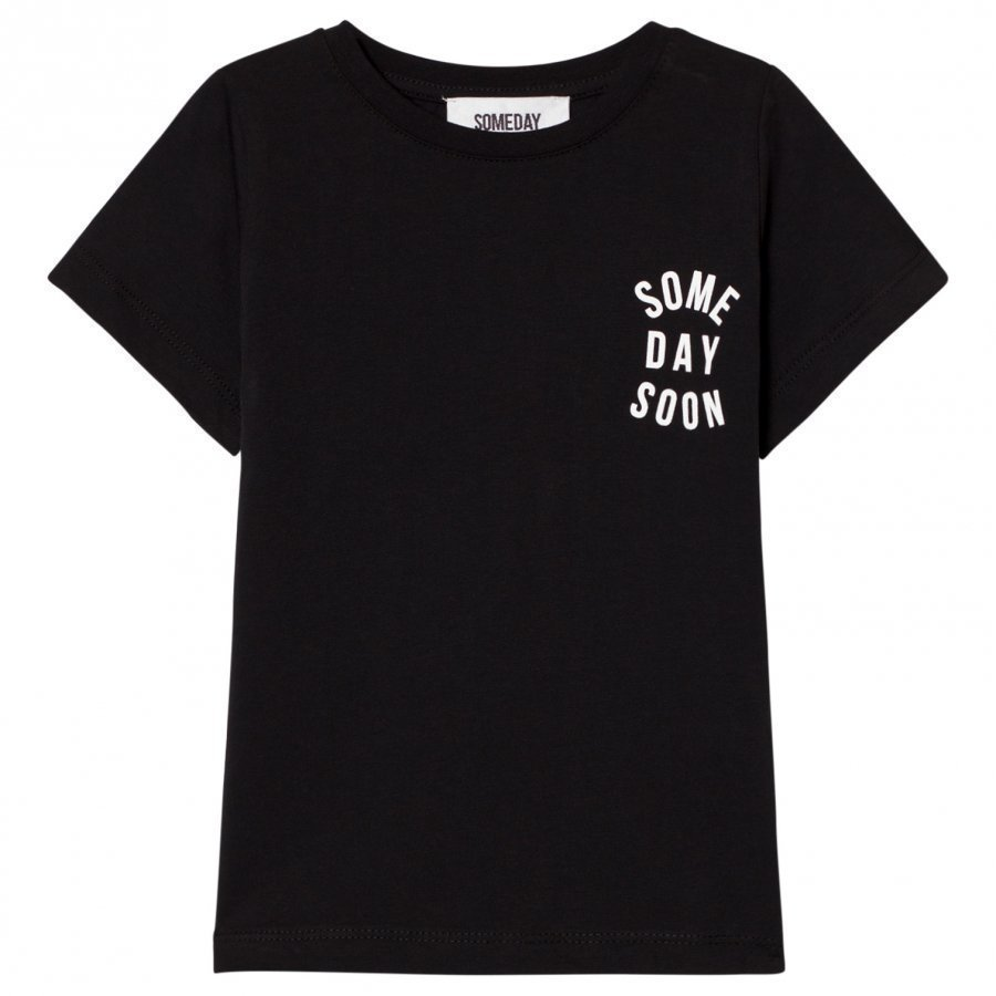 Someday Soon Revolution Tee Black T-Paita