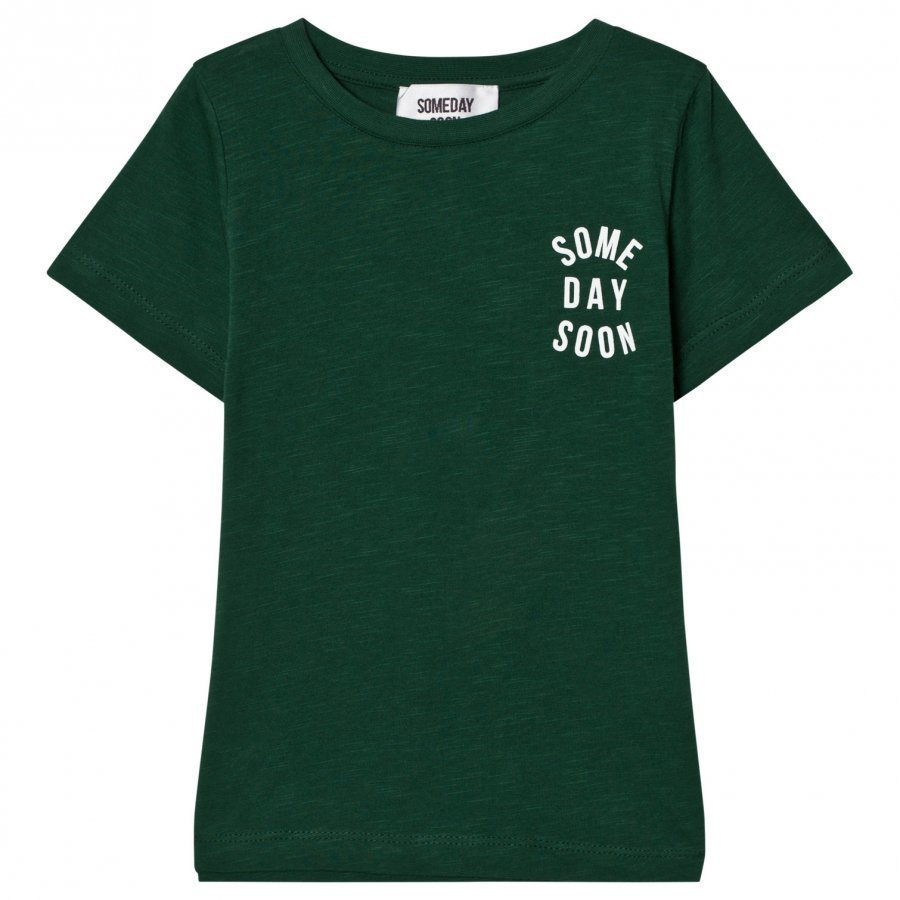 Someday Soon Revolution Tee Green T-Paita