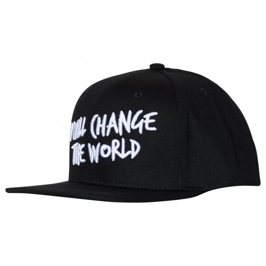 Someday Soon World Cap Black Lippis