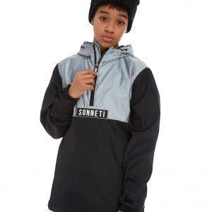 Sonneti Cyber 1/2 Zip Overhead Jacket Musta