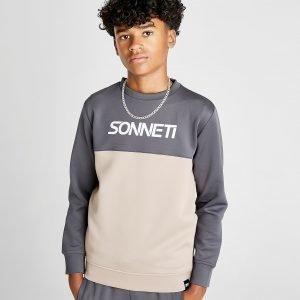 Sonneti Echo Crew Sweatshirt Harmaa