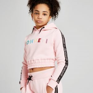 Sonneti Girls' Millennial Crop Hoodie Vaaleanpunainen
