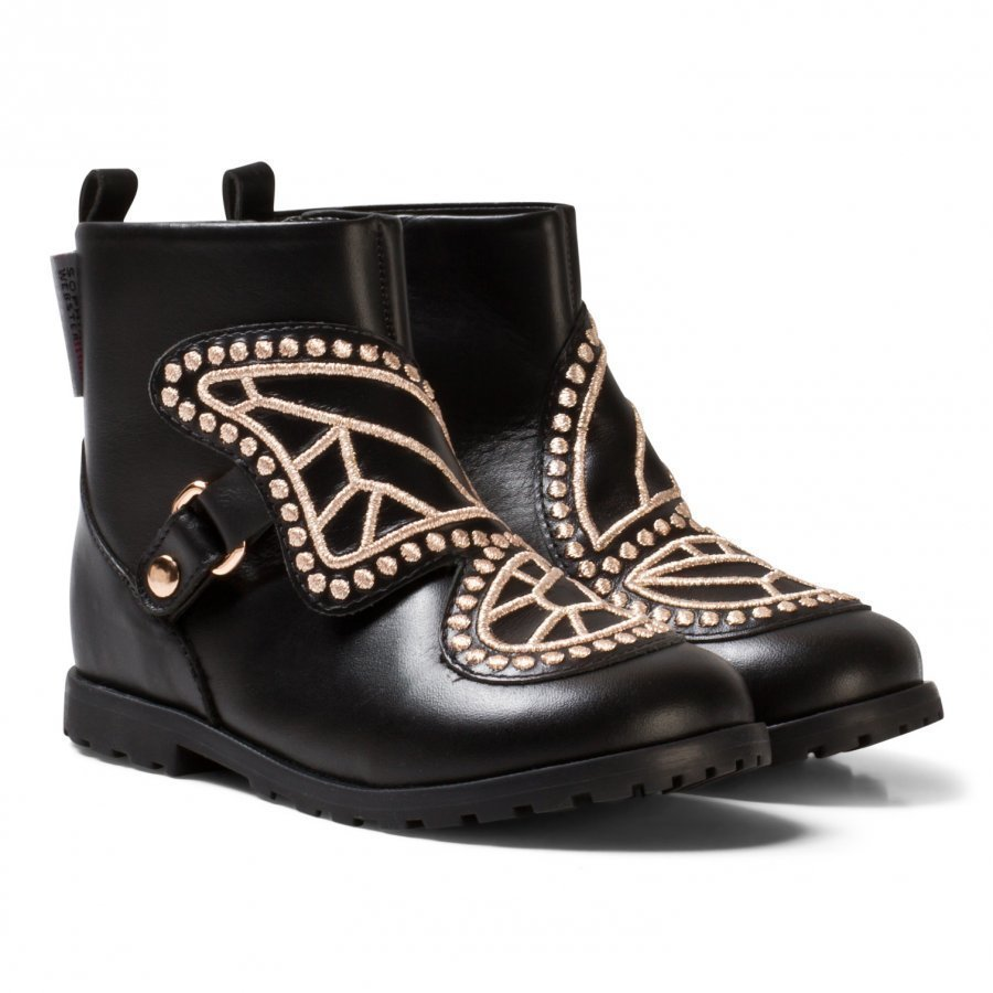Sophia Webster Mini Black Karina Butterfly Ankle Boots Nilkkurit