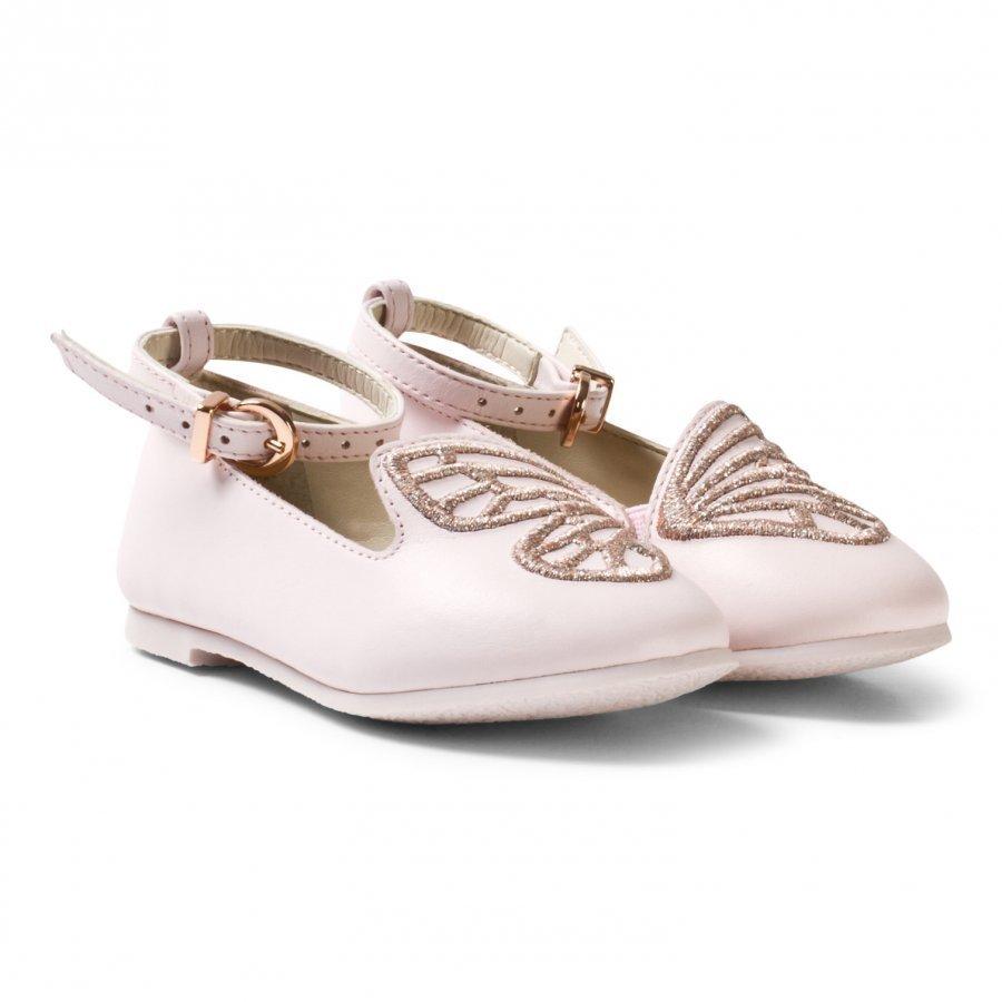 Sophia Webster Mini Pink Bibi Butterfly Shoes Ballerinat