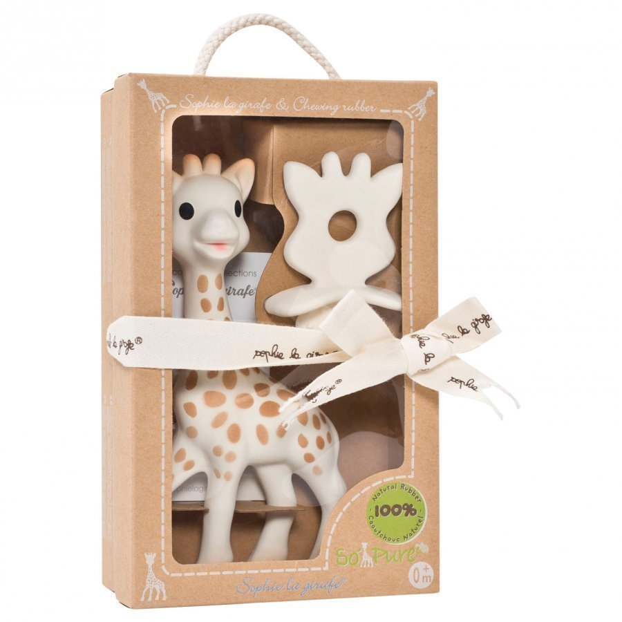 Sophie The Giraffe Sophie & Soother Purulelu