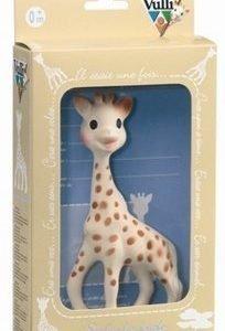 Sophie the Giraffe lahjapakkauksessa