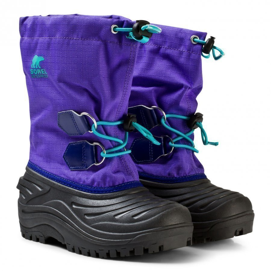 Sorel Kid's Super Trooper Boot Purple Arrow Talvisaappaat