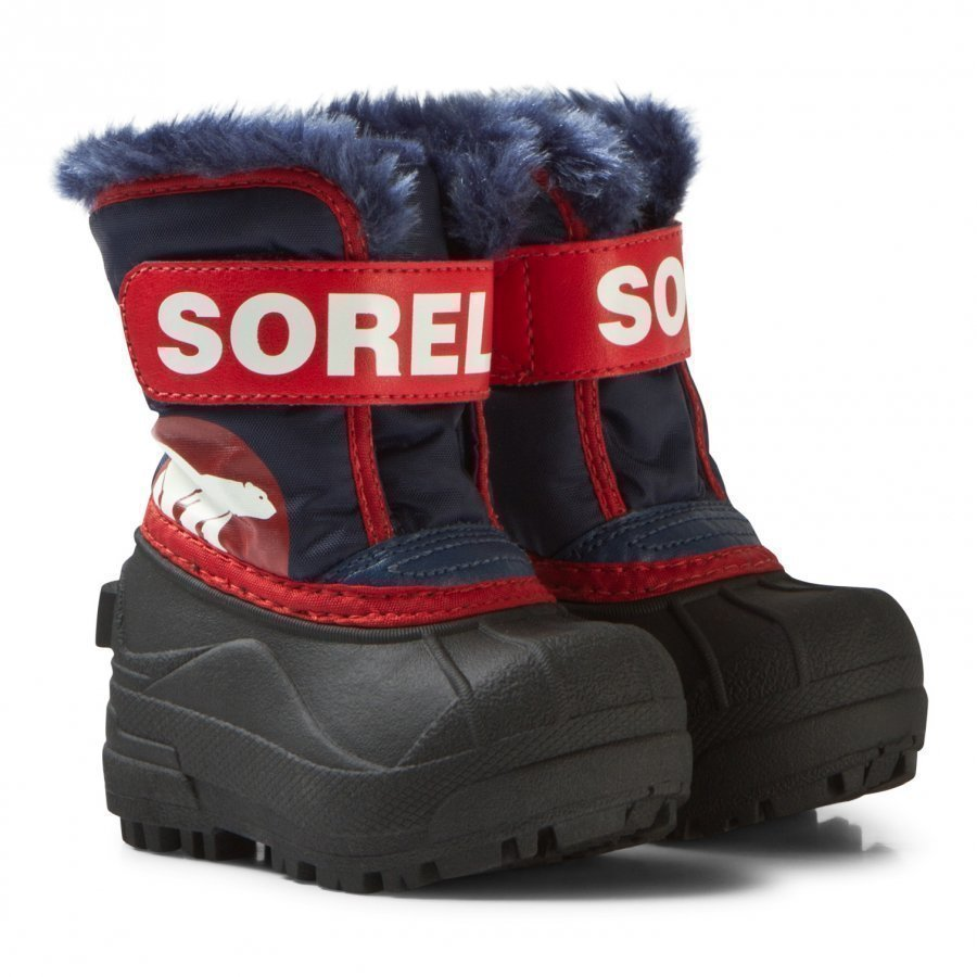 Sorel Snow Commander Sail Red Talvisaappaat