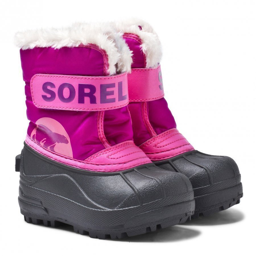 Sorel Snow Commander Talvisaappaat Tropic Pink Deep Blush Talvisaappaat