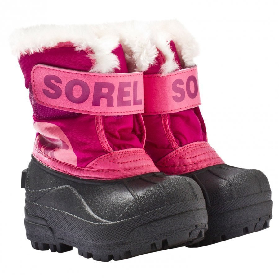 Sorel Snow Commander Tropic Pink Deep Blush Talvisaappaat
