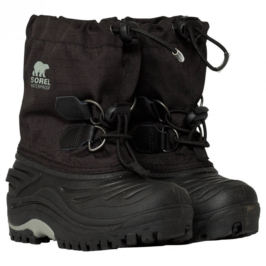 Sorel Super Trooper Black Light Gre Nilkkurit