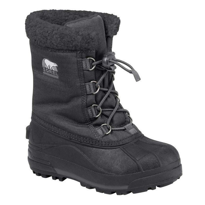 Sorel Talvisaappaat Cumberland Kids Black