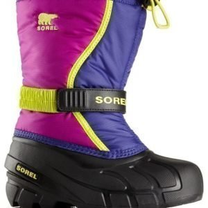 Sorel Talvisaappaat Flurry Kids Grape Juice Plum