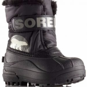 Sorel Talvisaappaat Snow Commander Kids Black