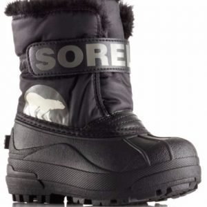 Sorel Talvisaappaat Snow Commander Toddler Black/Charcoal