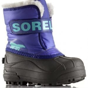 Sorel Talvisaappaat Snow Commander Toddler Grape Juice/Plum