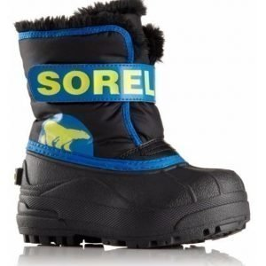 Sorel Talvisaappaat Snow Commander Toddler Super blue