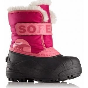 Sorel Talvisaappaat Snow Commander Toddler Tropic Pink