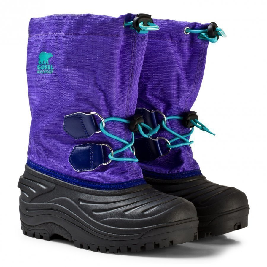 Sorel Youth Super Trooper Boot Purple Arrow Talvisaappaat