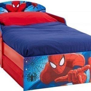 Spiderman Juniorisänky säilytystilalla