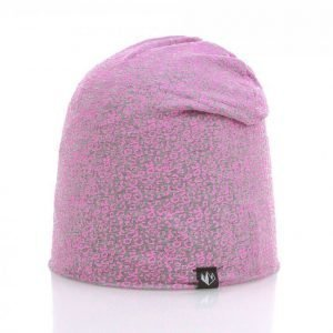 State Of Wow Animal Youth Beanie 22 Pipo Harmaa / Roosa