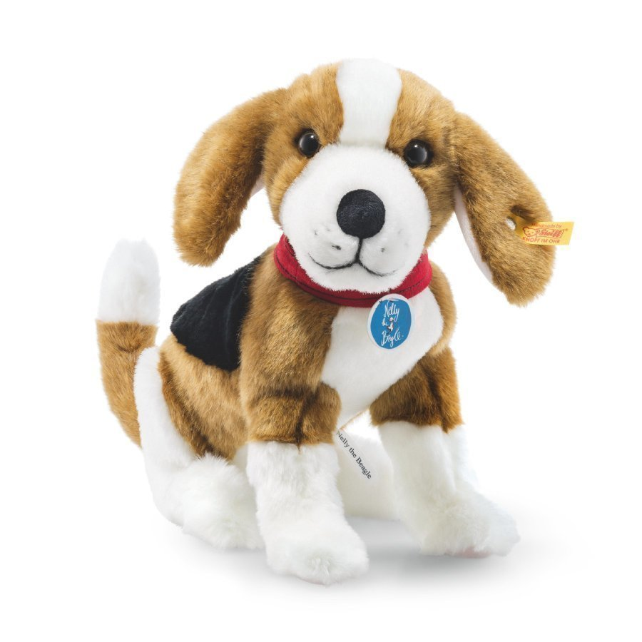 Steiff Beagle Koira Nelly Ruskea / Valkoinen 28 Cm