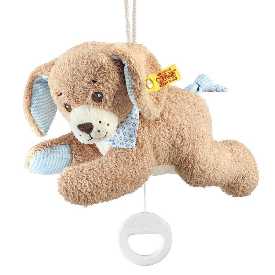 Steiff Hyvää Yötä Koira Soittorasia 22 Cm