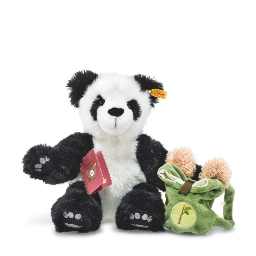 Steiff Teddy Karhu Lin Maailmanmatkaaja 34 Cm
