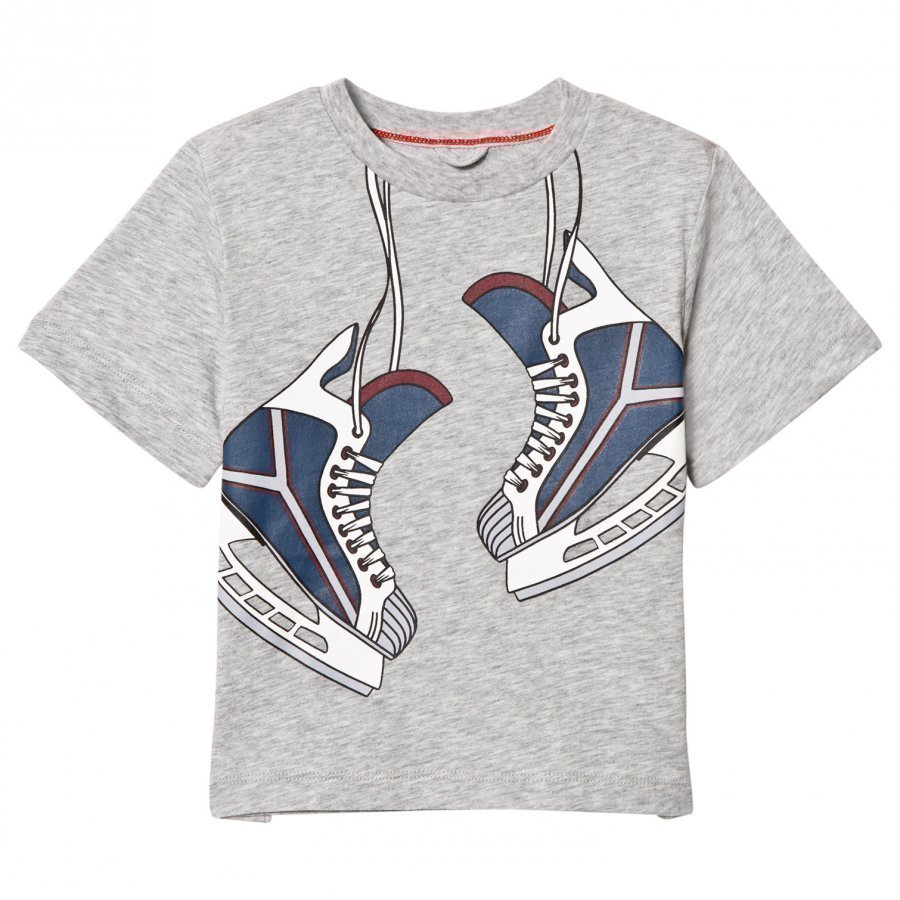 Stella Mccartney Kids Arrow Skate On T-Shirt T-Paita