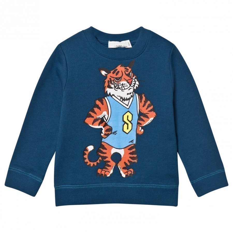 Stella Mccartney Kids Biz Tiger Mascot Sweatshirt Oloasun Paita