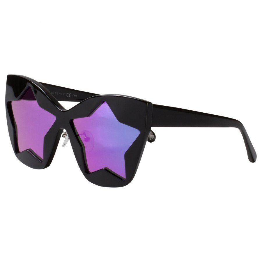 Stella Mccartney Kids Black And Pink Starlens Sunglasses Aurinkolasit