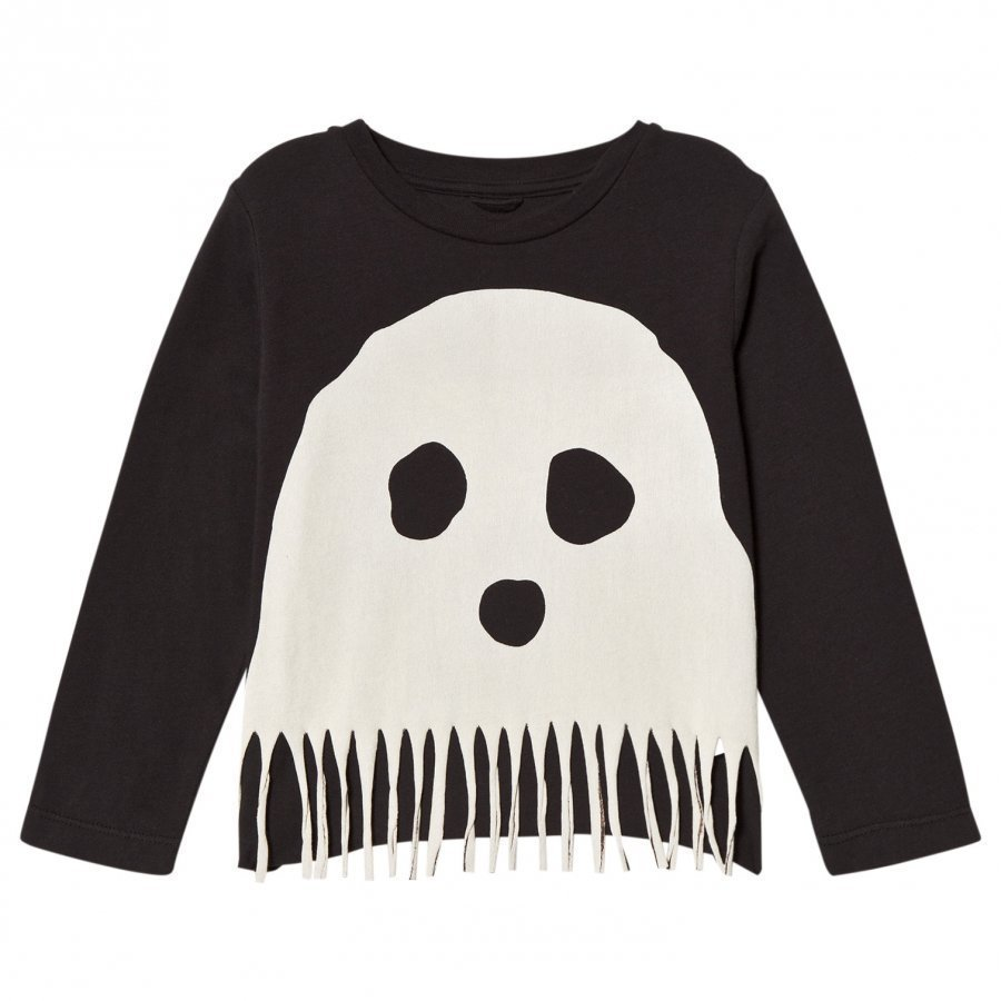 Stella Mccartney Kids Black Bella Ghost Tee T-Paita