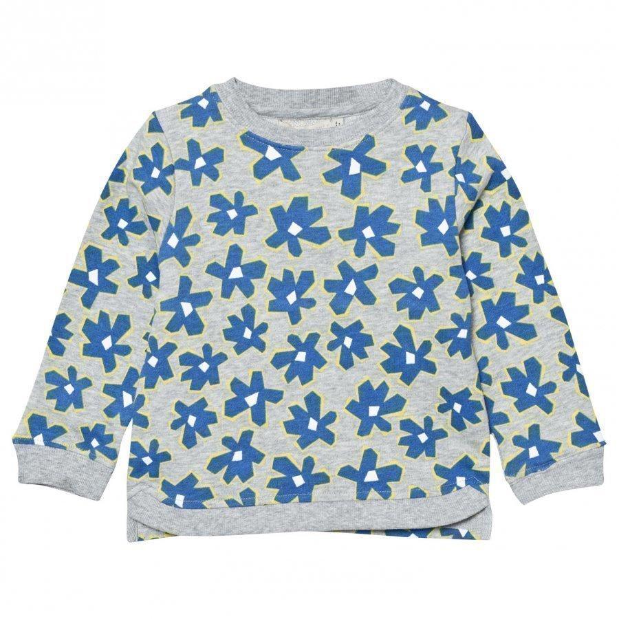 Stella Mccartney Kids Blue Daisy Print Sweatshirt Oloasun Paita