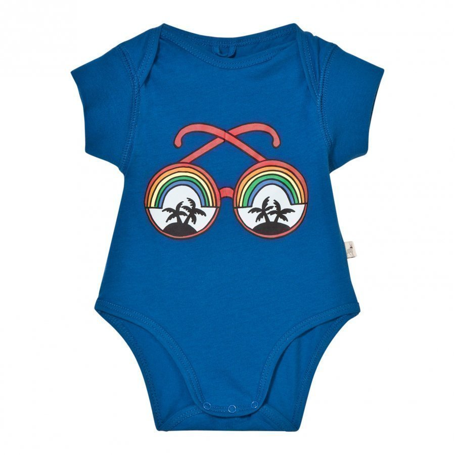 Stella Mccartney Kids Blue Rainbow Sunglasses Baby Body