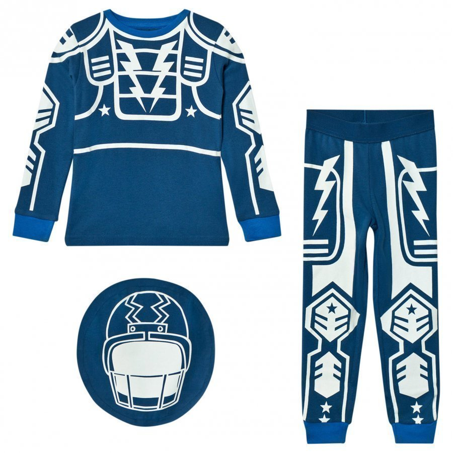 Stella Mccartney Kids Blue Robot Louie Pyjamas Yöpuku