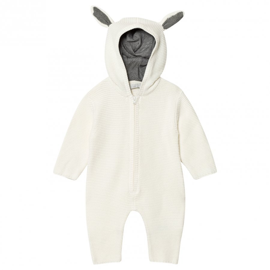 Stella Mccartney Kids Cream Acorn Knit Onesie Kokopuku